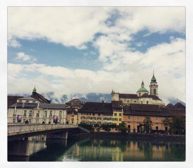 360 view of the baroque city of Solothurn