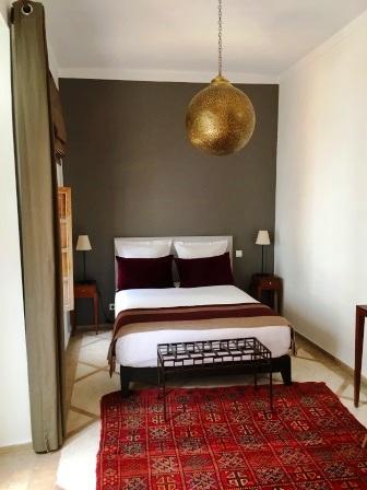 Chambre du Riad Bab54 à Marrakech