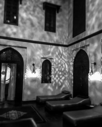Photo d'une des pièces du hammam les Bains de Marrakech à Marrakech