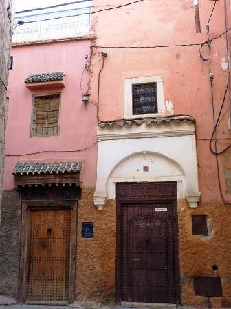 Maisons dans la médina de Marrakech