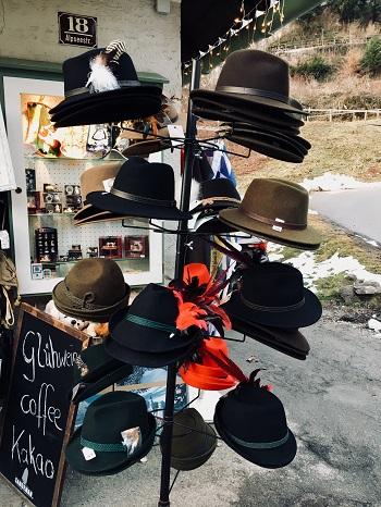 Tourniquet à chapeaux à Hohenschwangau